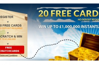 20 FREE SCRATCHCARDS WITH PRIME SCRATCHCARDS!