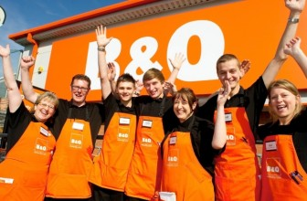 WIN £50 TO SPEND AT B&Q