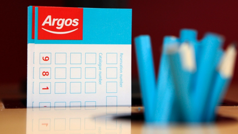 CHANCE TO WIN £1500 TO SPEND IN ARGOS